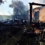 При пожаре в Аладьеве погиб 59-летний мужчина