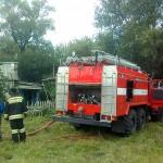 В Кошелёвке при пожаре погиб мужчина