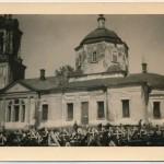 Вознесенский собор Малоархангельска на немецких фотографиях